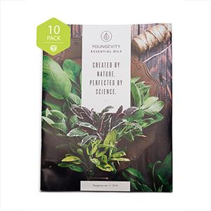 """Picture of Youngevity Essential Oils """"Mini-Catalog"""" 10-Pack"""